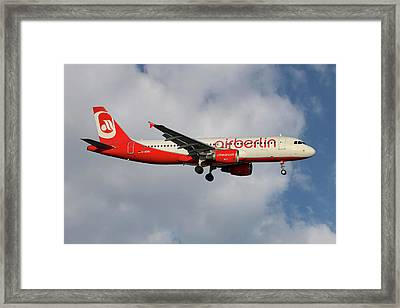 Air Berlin Airbus A320-214 Framed Print
