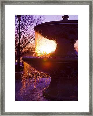 6 Am Framed Print by Kat Besthorn
