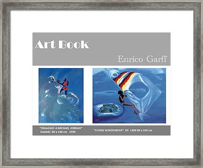Art Book Framed Print