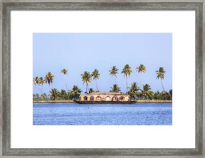 Backwaters Kerala - India Framed Print by Joana Kruse