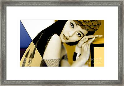 Beauty Collection Framed Print by Marvin Blaine
