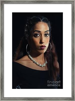 Beauty Portrait Framed Print