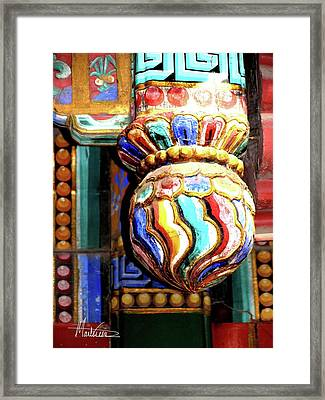 Framed Print featuring the photograph Beijing by Marti Green