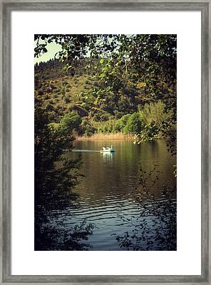 Belver Landscape Framed Print by Carlos Caetano