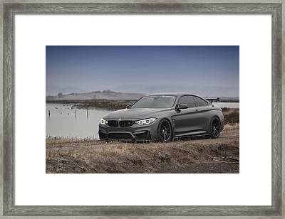 Framed Print featuring the photograph Bmw M4 by ItzKirb Photography