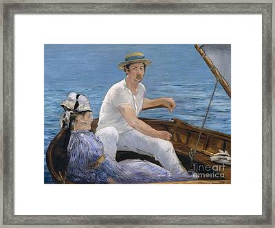 Boating Framed Print