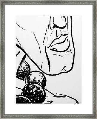 6 Framed Print by Brian Kendall James