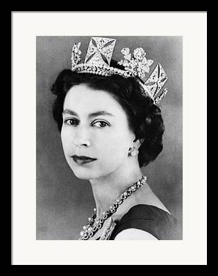 British Royalty Framed Prints