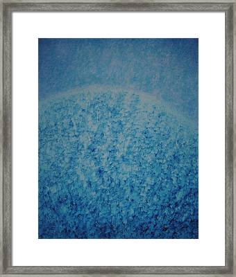 Framed Print featuring the painting Calm Mind by Kyung Hee Hogg