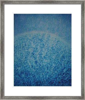 Calm Mind Framed Print by Kyung Hee Hogg