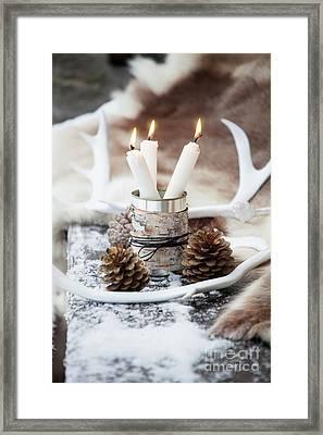 Candles Framed Print