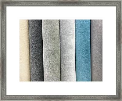 Carpet Colours Framed Print