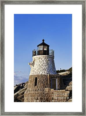 Castle Hill Lighthouse Framed Print by John Greim