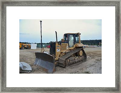 6 - Construction Equipment Series Framed Print by Matt Plyler