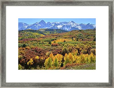 Framed Print featuring the photograph Dallas Divide by Ray Mathis