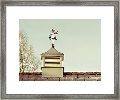 Vermont Direction   Framed Print by JAMART Photography