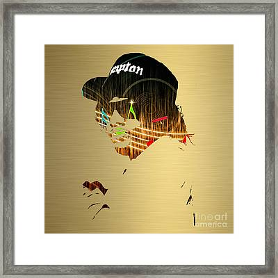 Eazy E Straight Outta Compton Framed Print by Marvin Blaine