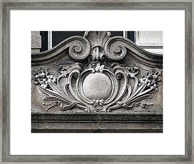 Embellishment Series Framed Print by Ginger Geftakys