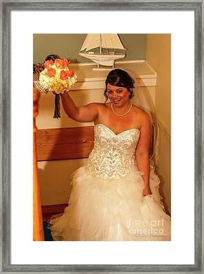 Faulkner Wedding Framed Print
