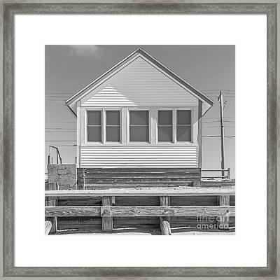 Framed Print featuring the photograph 6 - Flower Cottages Series by Edward Fielding
