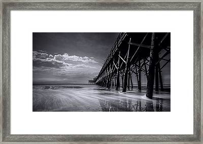 Folly Beach Framed Print by RC Pics