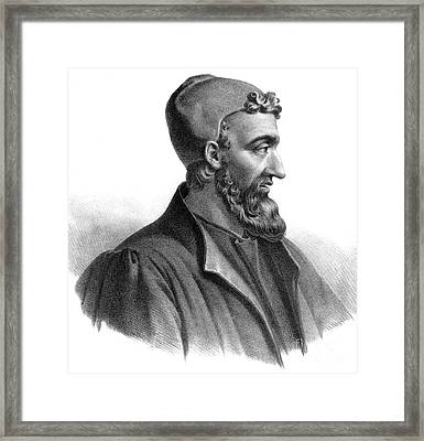 Galen, Greek Physician And Philosopher Framed Print by Science Source