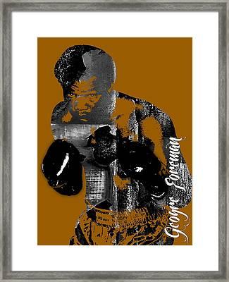 George Foreman Collection Framed Print