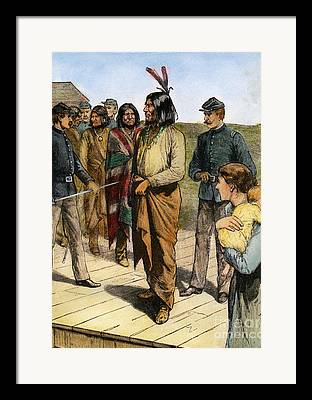 Native American Leaders Framed Prints