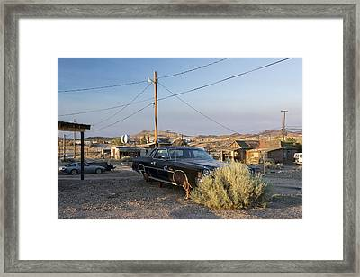 Ghost Town Framed Print by Christian Heeb