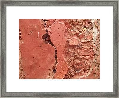 Goree Texture   Framed Print by Fania Simon