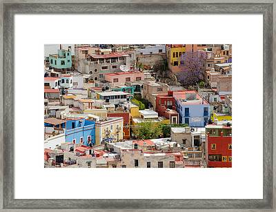 Guanajuato, Mexico. Framed Print by Rob Huntley