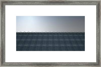 Huge High Security Wall Framed Print by Allan Swart