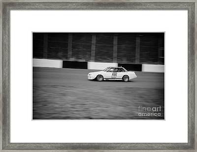 #6 Is Leading The Pack Framed Print