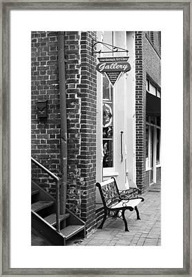 Jonesborough Tennessee - Main Street Framed Print by Frank Romeo