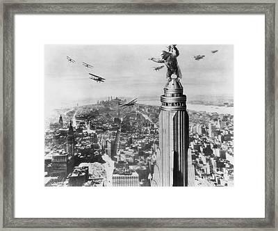 King Kong, 1933 Framed Print by Granger