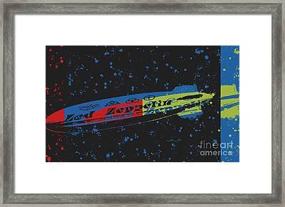 Led Zeppelin Framed Print by RJ Aguilar