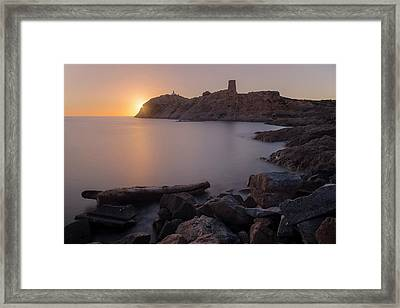 L'ile Rousse - Corsica Framed Print