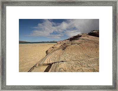 Luskentyre, Isle Of Harris Framed Print