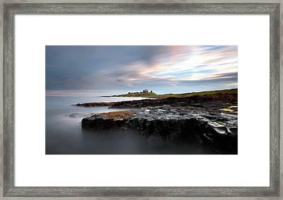 M N Landscape Framed Print
