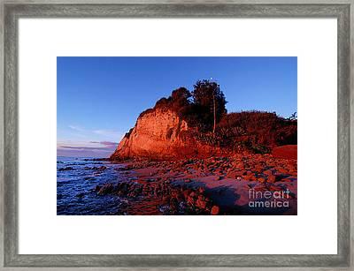 Malibu Sunrise Framed Print by Marc Bittan