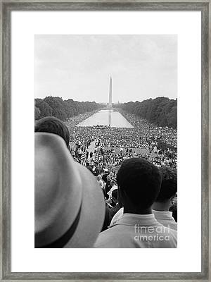 March On Washington, 1963 Framed Print by Granger