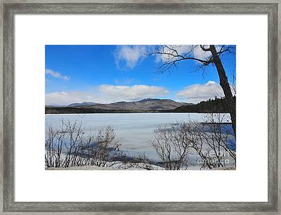 Mount Chocorua 5 Framed Print by Catherine Reusch Daley