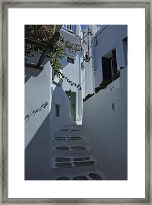 Mykonos Greece Framed Print