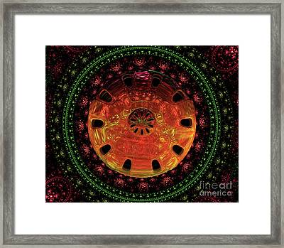 Mysteries Of The Universe By Raphael Terra Framed Print