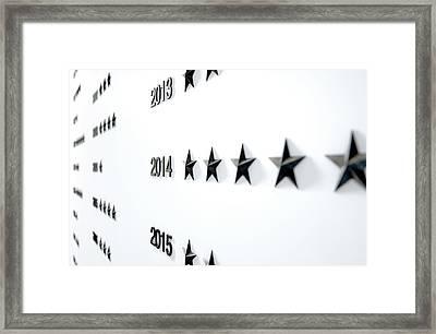 Nameless Honors Board Framed Print