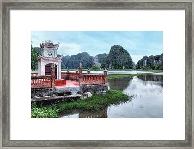 Ninh Binh - Vietnam Framed Print by Joana Kruse
