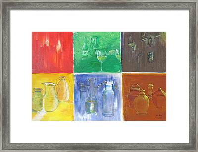 6 Panes Of Existence Framed Print