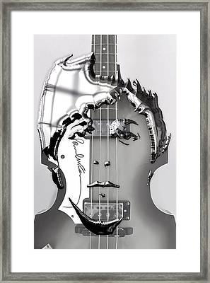 Paul Mccartney Art Framed Print