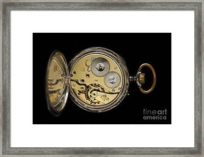 Pocket Watch Framed Print