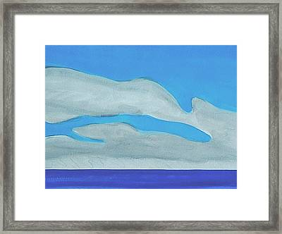 Pompano Beach Framed Print by Dick Sauer
